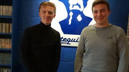 Emile en Jeffrey presenteren Goal op Radio Tequila