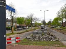 Versmalling Vondellaan Oosterhout voor beperken snelheid en verminderen wateroverlast