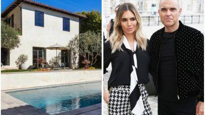 BINNENKIJKEN. Robbie Williams koopt villa in Malibu voor 18 miljoen