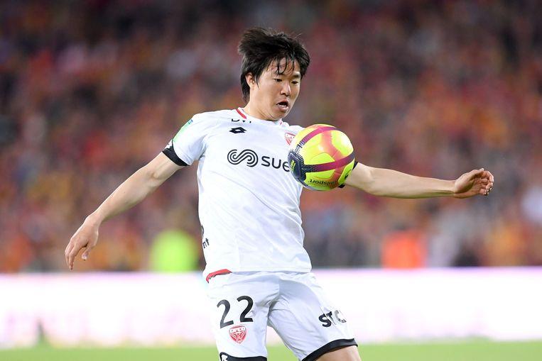 Changhoon Kwon in het shirt van Dijon.