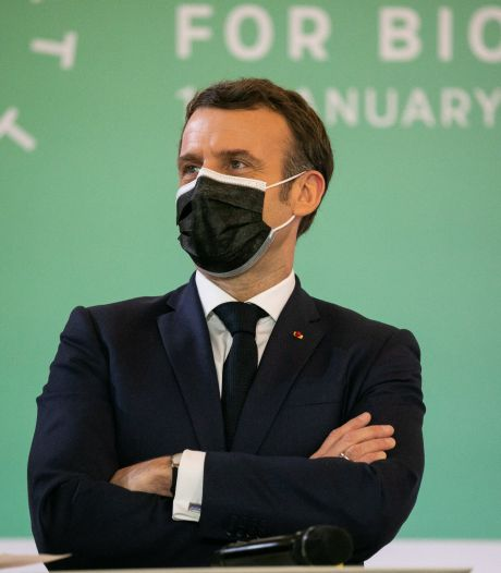 """Macron veut remobiliser les dirigeants mondiaux autour du climat: """"L'avenir dépend de ce que nous faisons ici"""""""