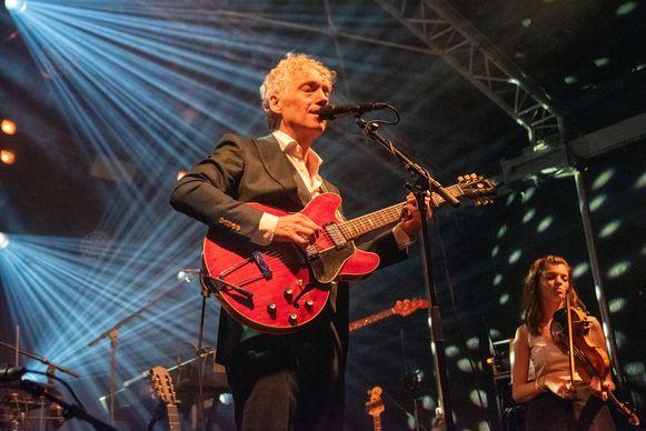 Spinvis op het Dioniss-festival in 2019