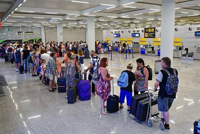 Aéroport de Palma, en juillet 2018