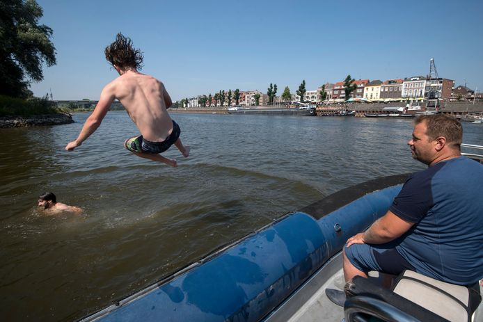 Patrouille op de Rijn met Patrick Bolder.