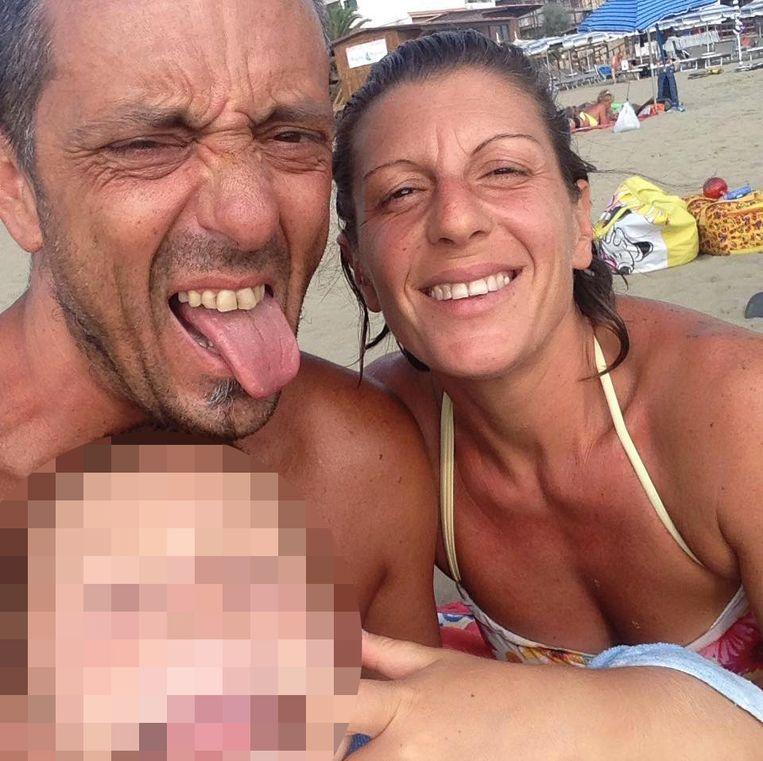 Roberto Robbiano (44), zijn vrouw Ersilia Piccinino (41) en hun zoon Samuele.