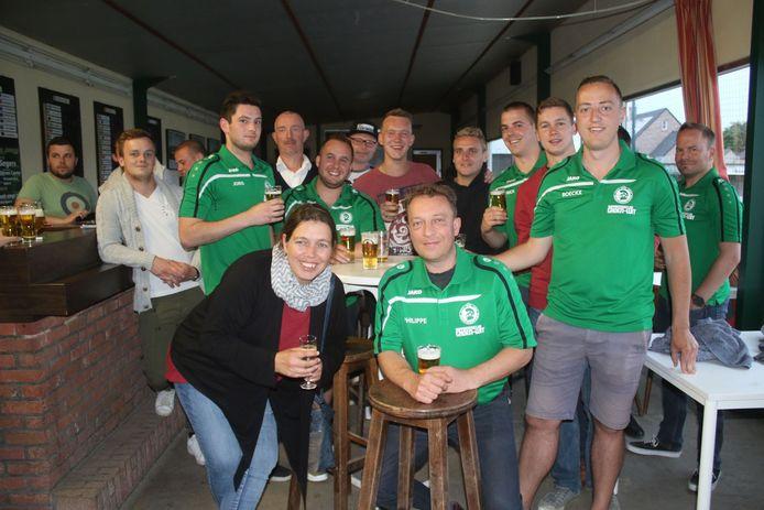 Supportersclub Sparta Haacht Statie gaat tweede levensjaar in met dertig leden