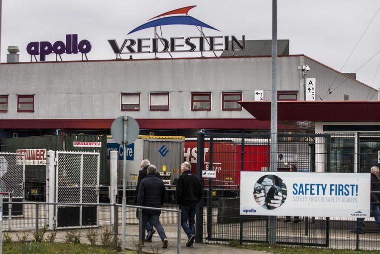 Bandenfabriek Apollo Vredestein in Enschede. Beeld ANP