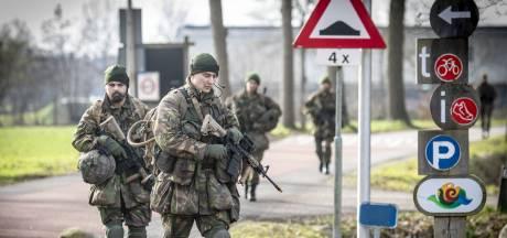 Militaire oefening in Oldenzaal en Denekamp