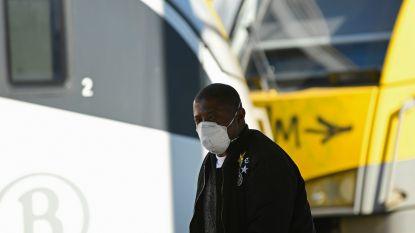 Mondmaskers verplicht op de trein en er komen controles, waarschuwt minister Bellot