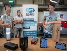 De drie broers Seuren pionieren met fietsaccu's: 'Het is aanpakken, maar het gaat snel met ons bedrijf'