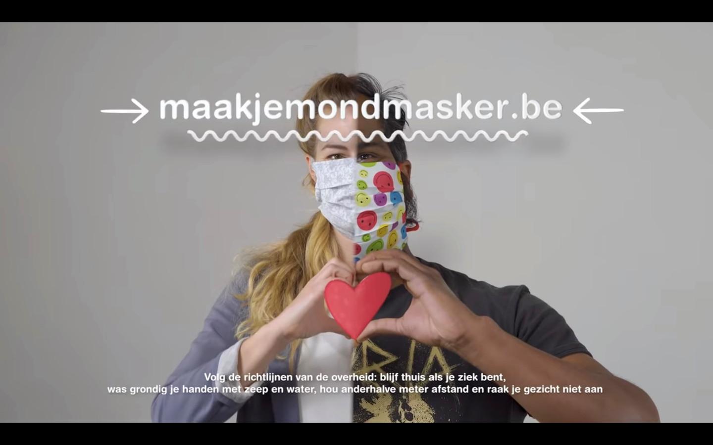 Maak- en draag- en bewaartips vind je op www.maakjemondmasker.be