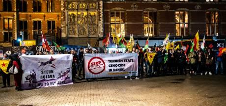 Ook Amsterdamse Koerden voelen zich bedreigd door Turkse grondtroepen