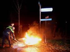 Weer brand gesticht in Waardenburg in aanloop naar Oud en Nieuw