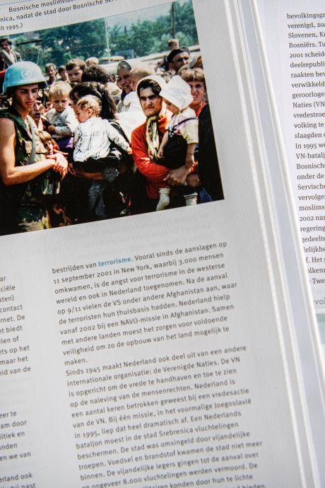 Een genocide, maar de leraar weet van niks: 'Misschien is het nog te kort geleden'