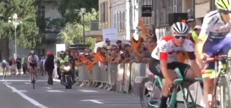 Potence cassée en plein sprint: drôle de mésaventure pour Simon Pellaud