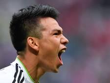Kersvers PSV'er Lozano is goud waard voor Mexico