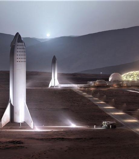 Zo brengt Elon Musk ons over tien jaar naar Mars
