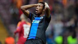 Club Brugge moet Okereke missen voor bekerfinale: Nigeriaan 4 tot 6 weken out