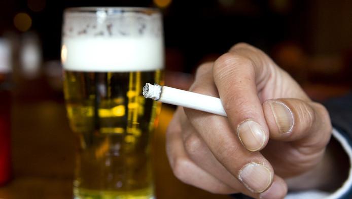 wat is slechter overgewicht of roken