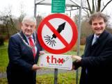 Utrechts park krijgt bord tegen vuurwerk dat wél moet werken