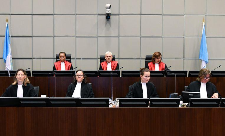 Het Libanon-Tribunaal in Leidschendam. Beeld AP