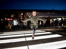 Verlicht zebrapad in Eerbeek doet het weer