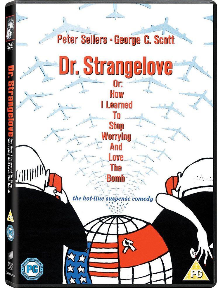 DVD-hoes van Dr. Strangelove Beeld .