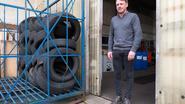 Honderd autobanden gestolen bij garage Citroën aan Antwerpsesteenweg