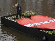 Hart van Troost vaart ter nagedachtenis van slachtoffers corona