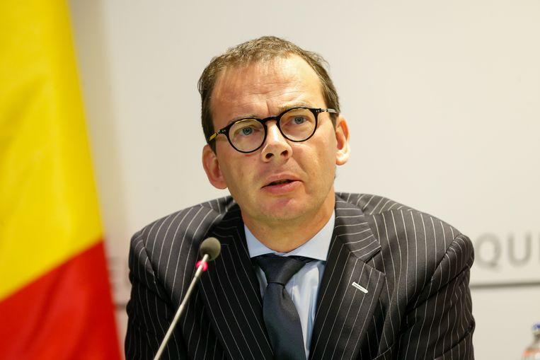 Federaal minister Wouter Beke.