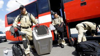 Europese Unie stuurt honderdtal gespecialiseerde brandweerlui naar Beiroet