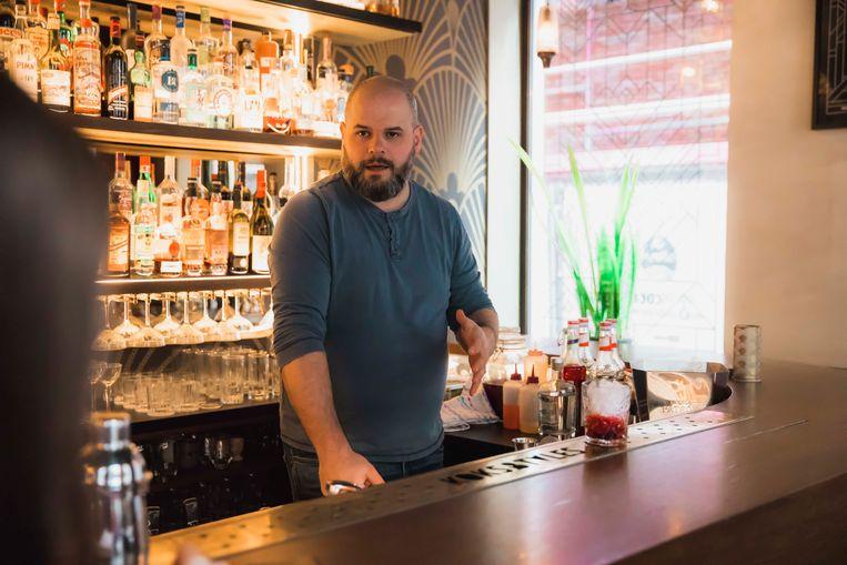 Rob Biesmans van cocktailbar Koks&Tales.