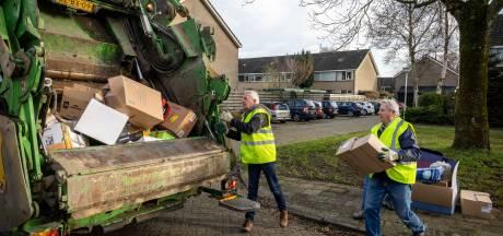 Oudpapierinzameling Steenwijk gaat voorlopig door op oude manier, maar wel zonder vrijwilligers