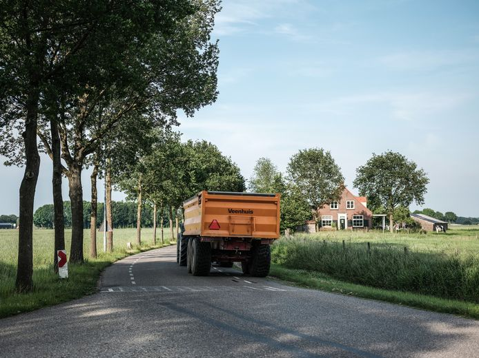 De Zomerweg in Doesburg.