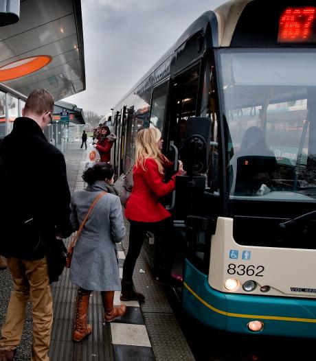 'P+R bij busstation Heinenoord om over te kunnen stappen'
