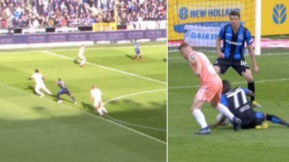 Twee correcte beslissingen volgens Verbist: scheidsrechtersbaas laat zich uit over discutabele fases in Club Brugge-Anderlecht