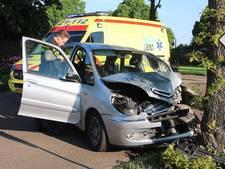 VIDEO: Automobilist gewond bij botsing tegen boom in Schaijk