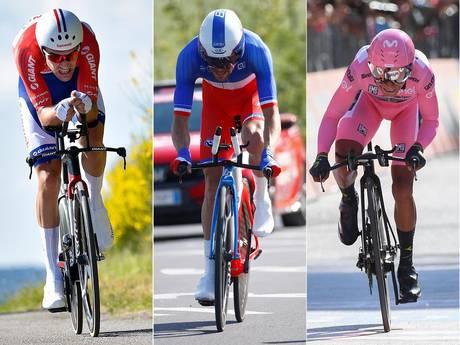 LIVE: Giro nadert bizarre ontknoping, Van Emden snelste