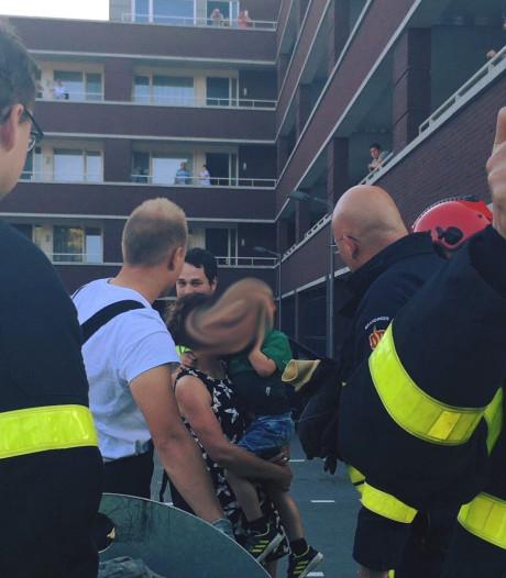 Rik (4) belandt in ondergrondse afvalcontainer: 'Brandweer is nu zijn held'