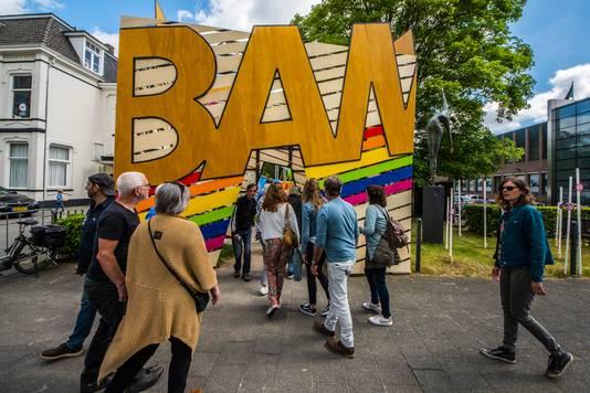 De ingang van het BAM! Festival bij het Prins Bernhardplantsoen