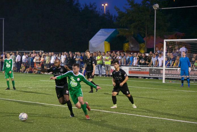 MASV en DFS troffen elkaar in 2018 in de finale van het districtsbekertoernooi Oost.