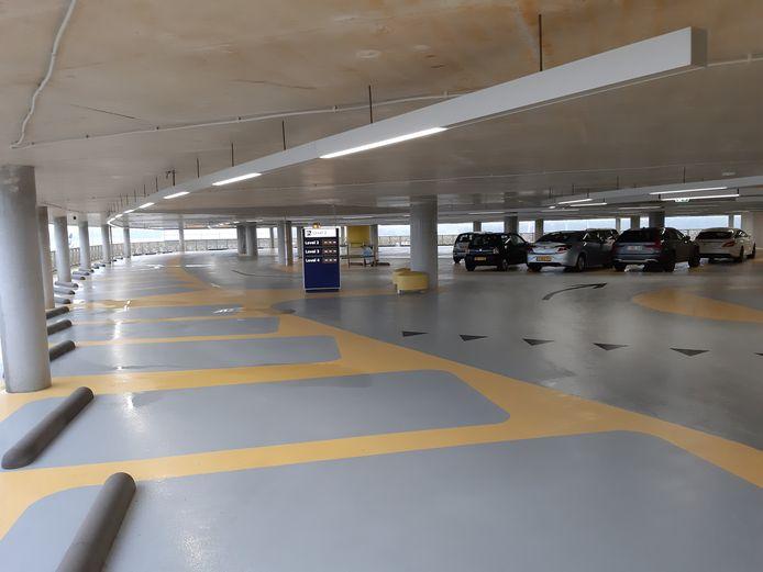 Parkeergarage P1 kon dinsdagochtend voor het eerst worden gebruikt.