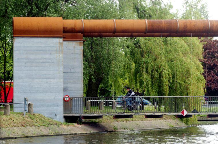Brugge conzettbrug alweer defect