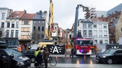 """Inspectie van ontploft gebouw op  Antwerpse Paardenmarkt was aangevraagd, maar ging niet door: """"Pand was in zeer slechte staat"""""""