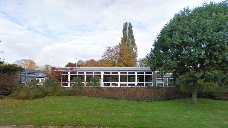 Het schooltje aan de Zuidelijke Wandelweg Beeld Google Maps