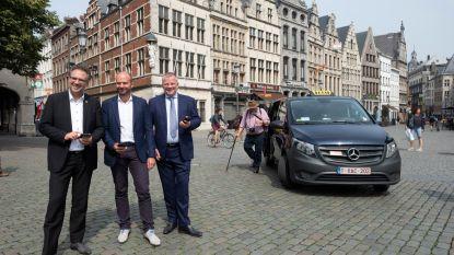 Deel taxi met onbekende en bespaar tot 40 procent