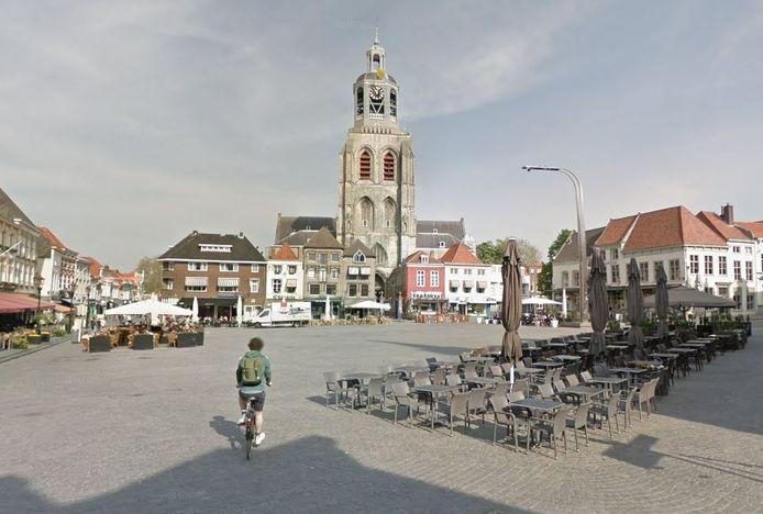 Grote Markt in Bergen op Zoom.