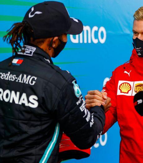 FIA eert Schumacher en Hamilton op prijzengala