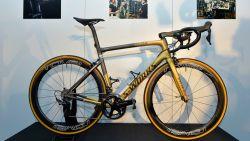 Zelfs uitgerust met gouden ketting: Sagan gaat met deze blitse tweewieler op zoek naar tweede zege in de Ronde