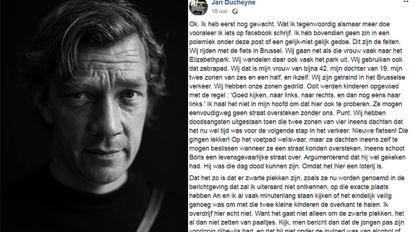 """Vader van tweeling schrijft open brief over gevaren in Brussels verkeer: """"Kinderen mogen straat niet oversteken zonder ons"""""""